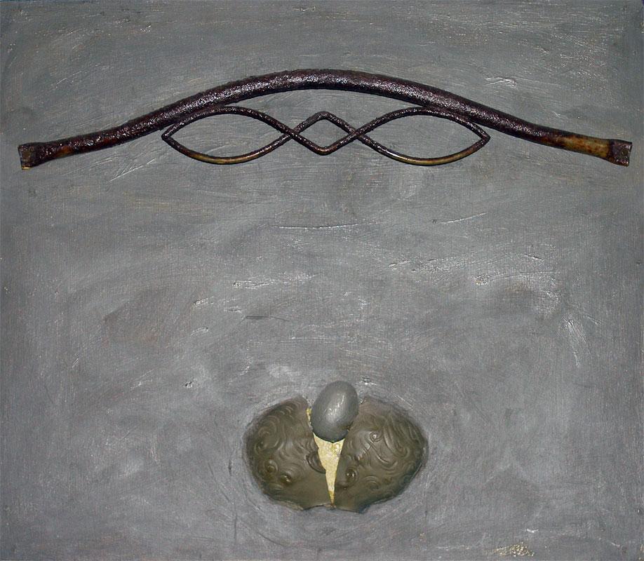 Wrought Iron Egg