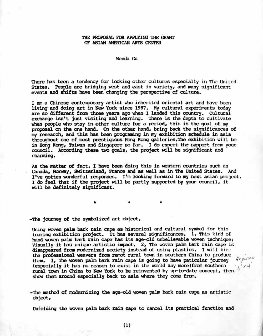 Wenda Gu proposal, pg 1