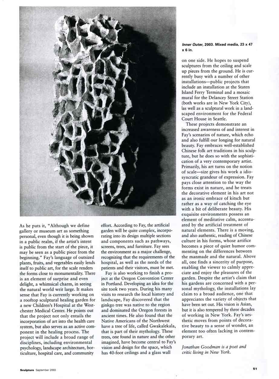 A Decorative Reading of Nature: Ming Fay, article, pg 5