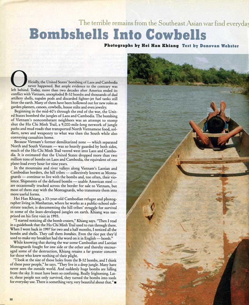 Bombshells Into Cowbells, pg 1
