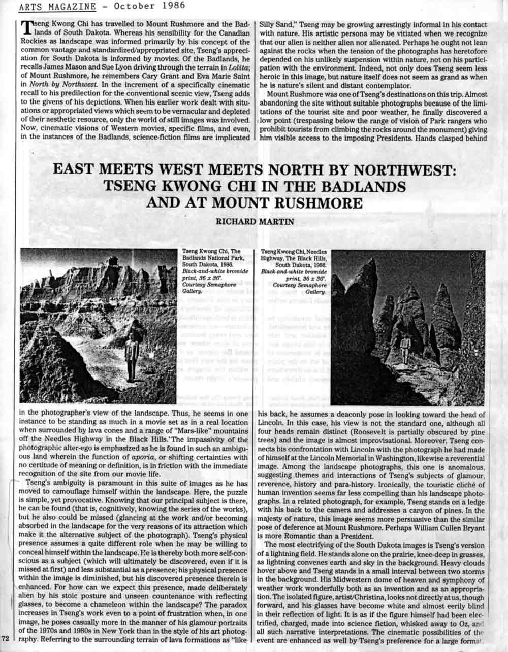 East Meets West, pg 1