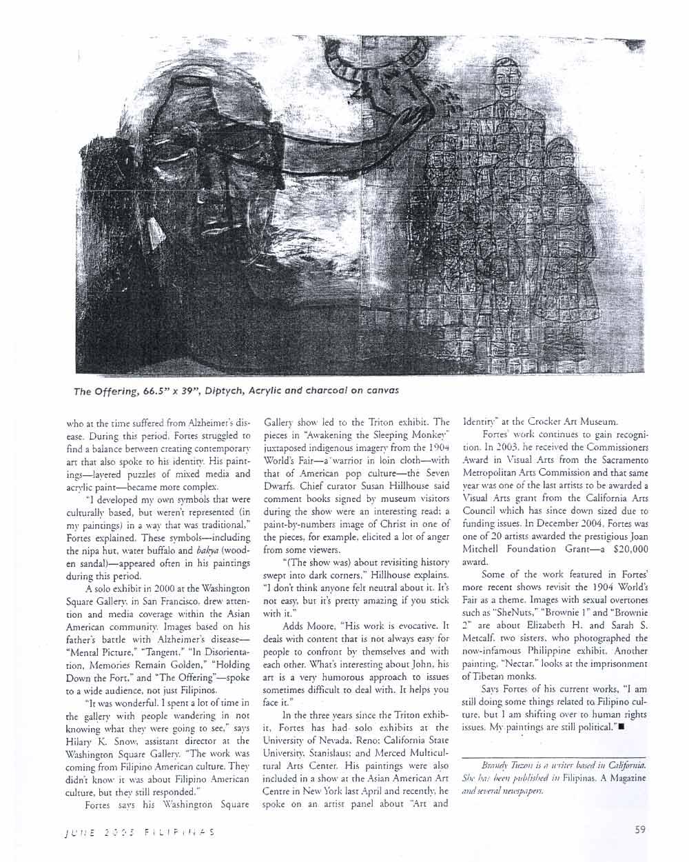 Fortes' Forte, article, pg 2