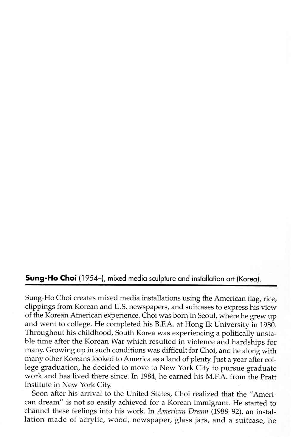 Choi Encyclopedia, pg 1
