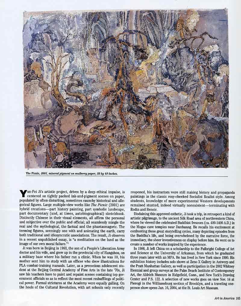 Yun-Fei Ji: Moral Vistas, article, pg 2