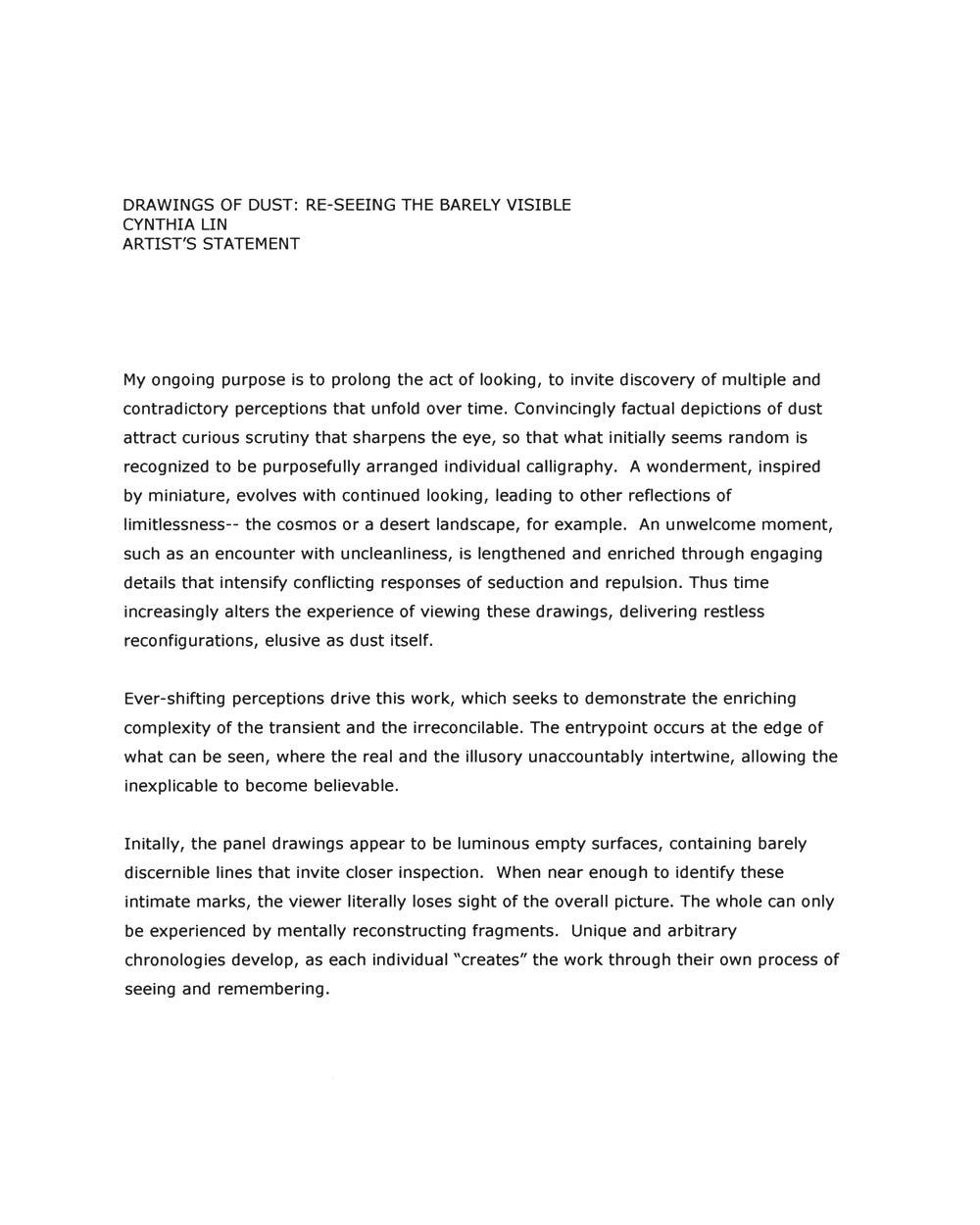 Cynthia Lin's Artist Statement (3)