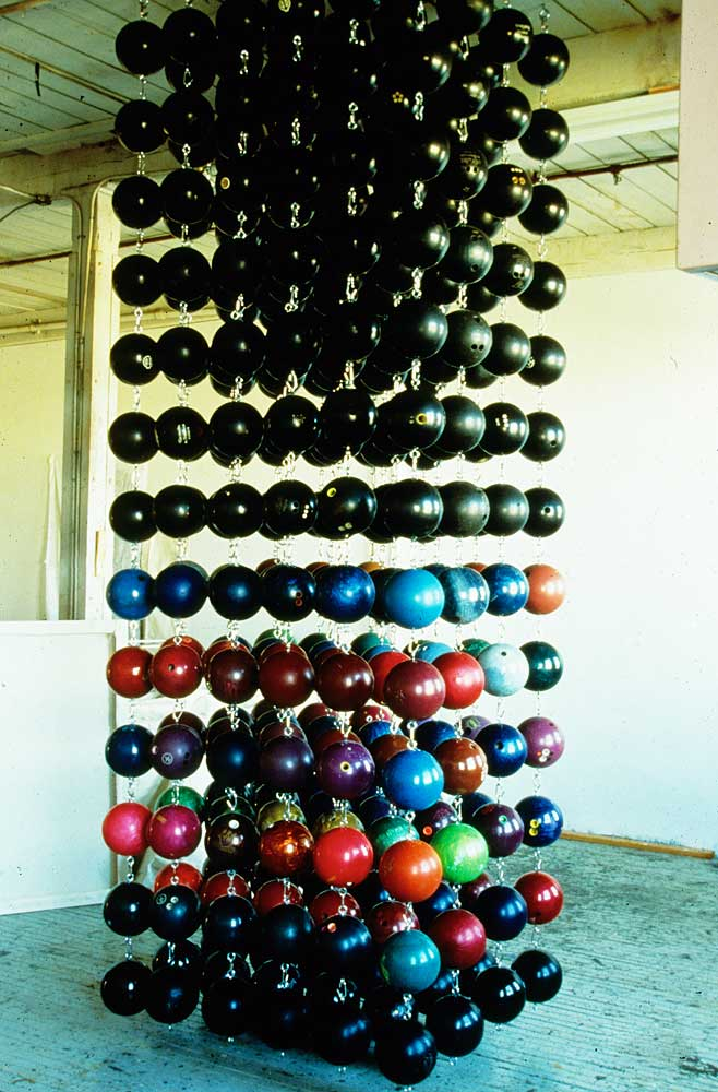 Bowling Ball Curtain