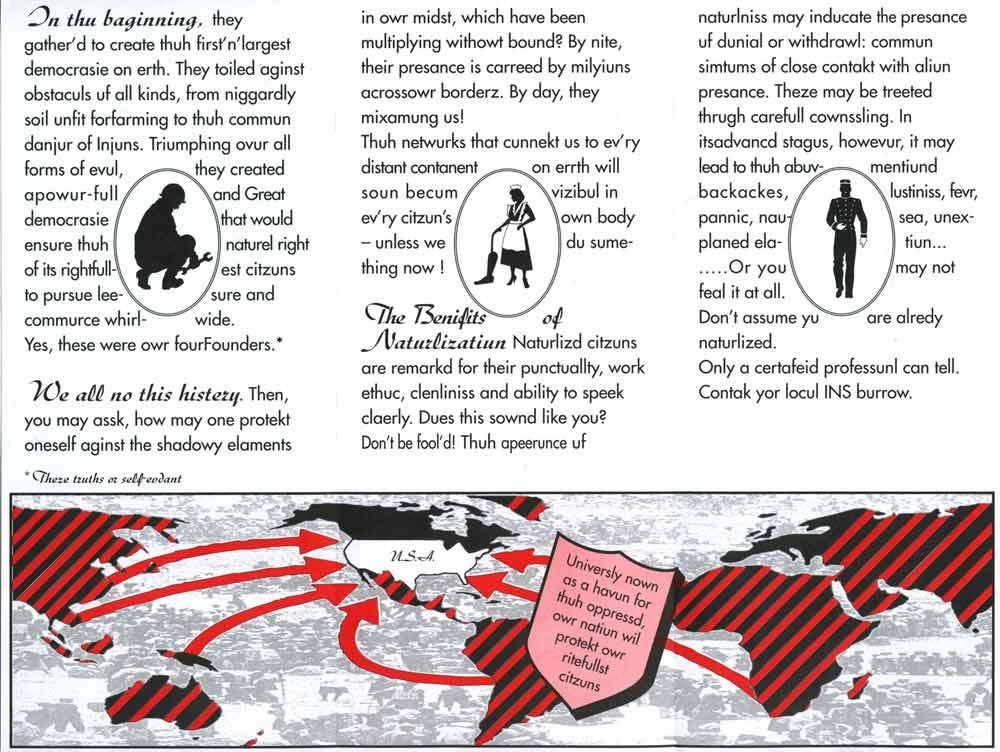 Deep Within Your Veins, brochure, pg 2