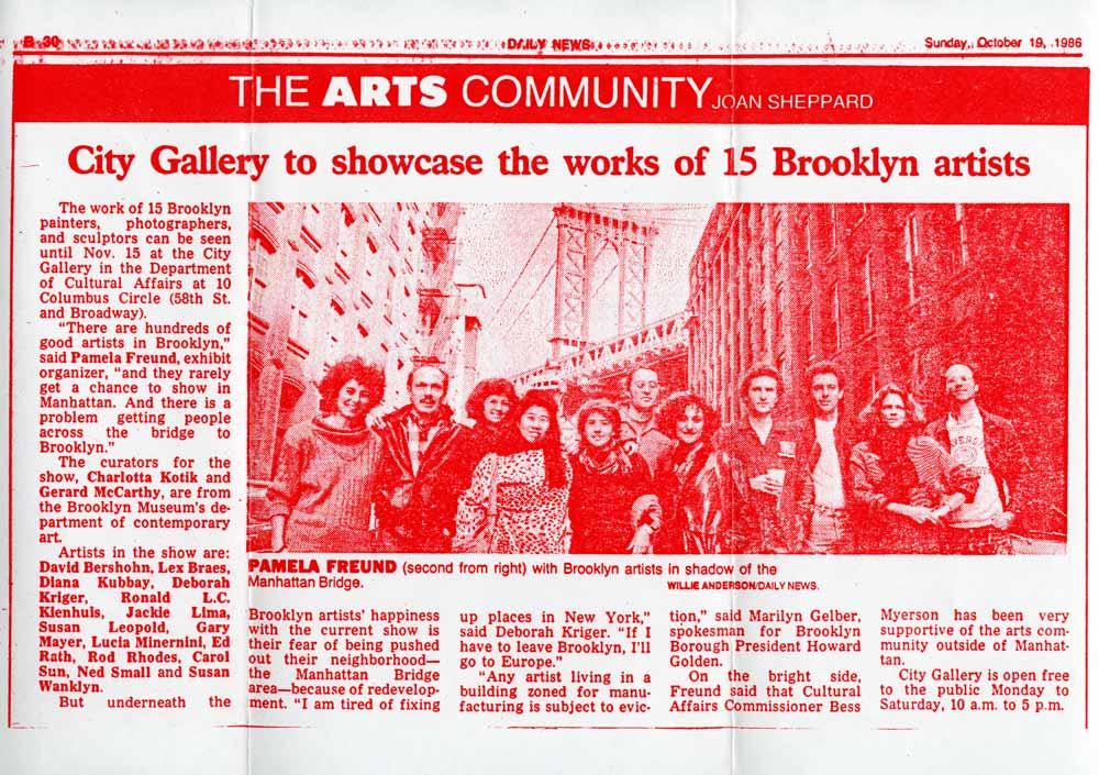 15 Brooklyn Artists