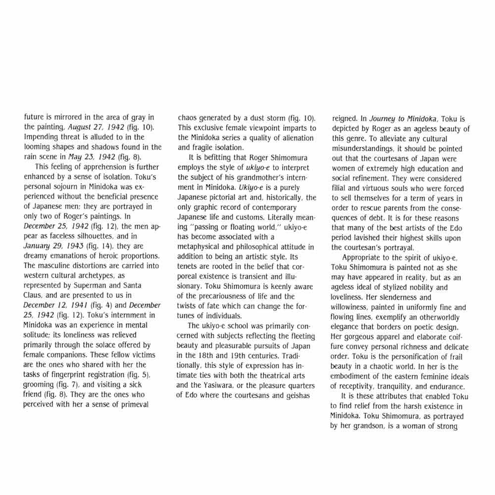 Journey to Minidoka, brochure, Seto, pg 2