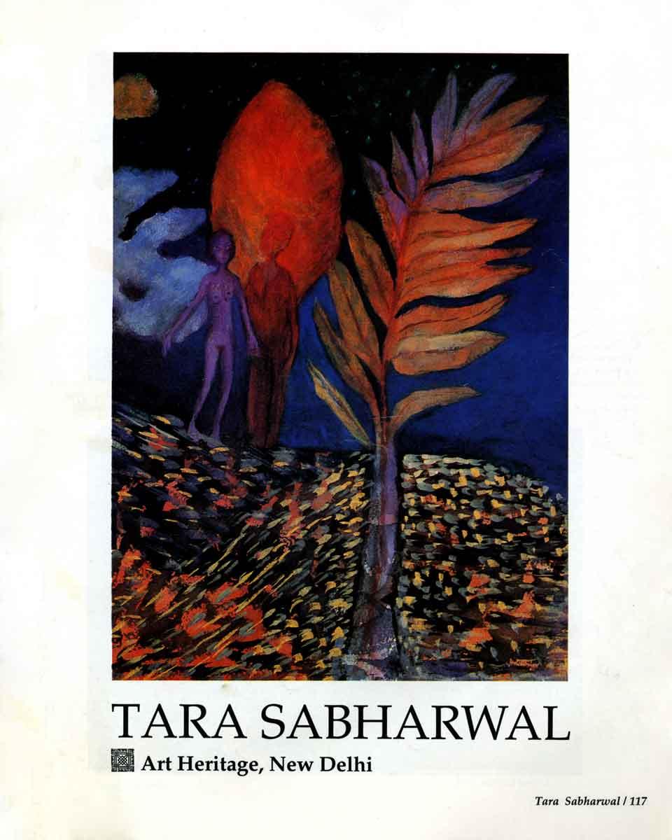 Tara Sabharwal, essay, pg 1