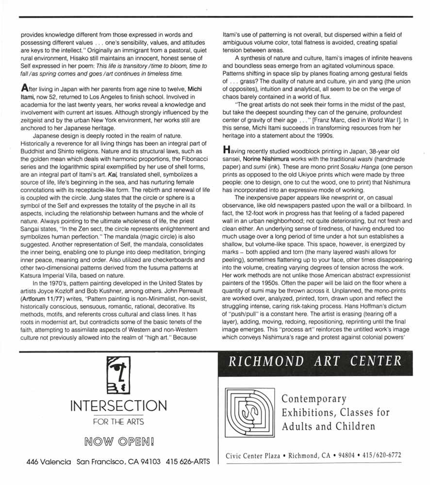 Issei to Shin Issei, essay, pg 2