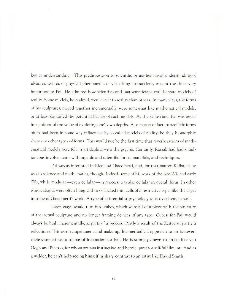 John Pai: One on One, essay, pg 5