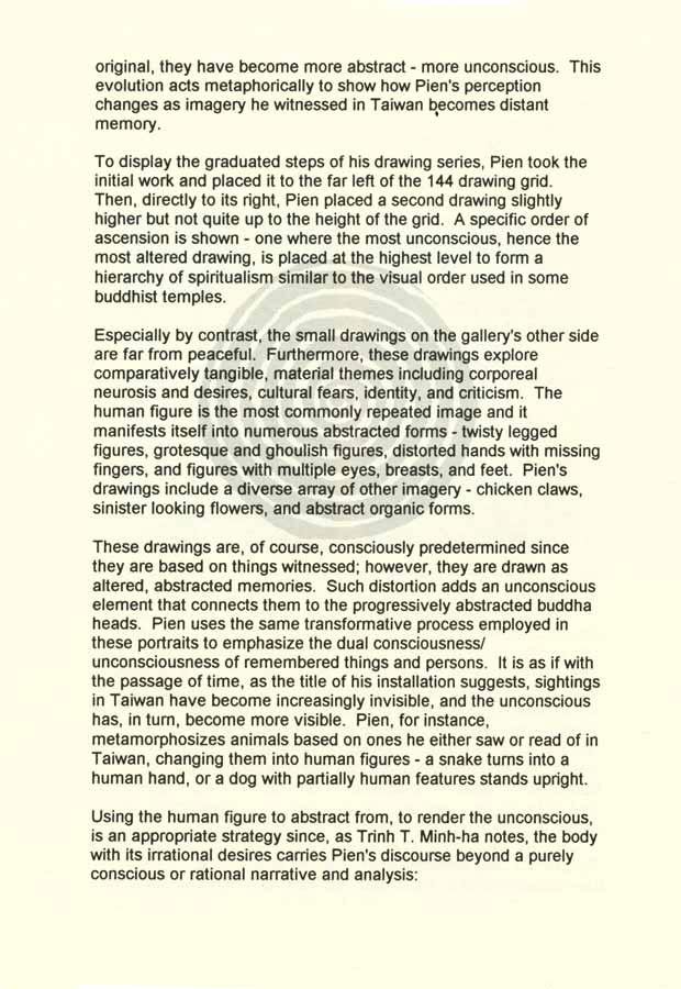 Invisible Sightings, essay, pg 4