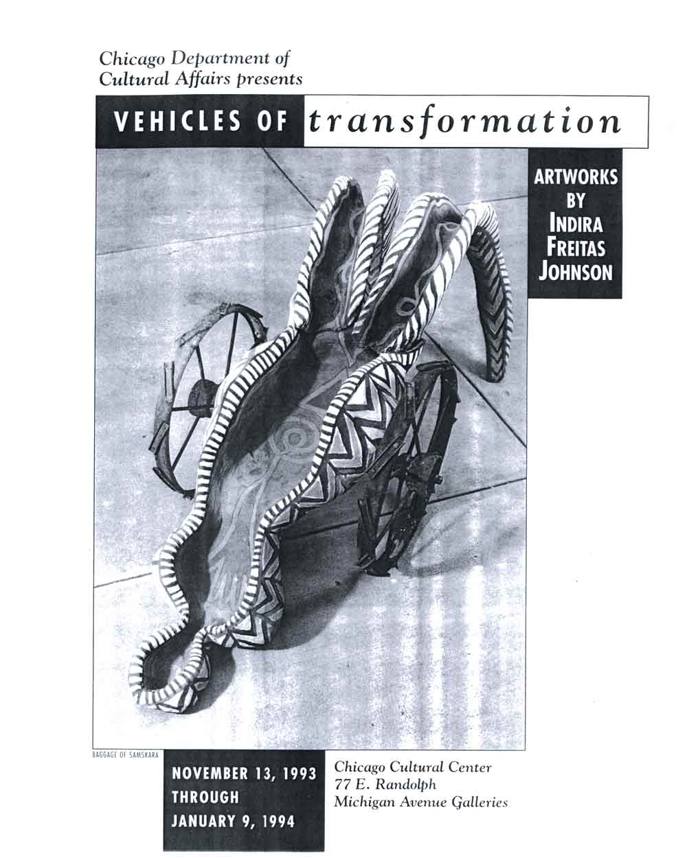 Vehicles of transformation, article, pg 1