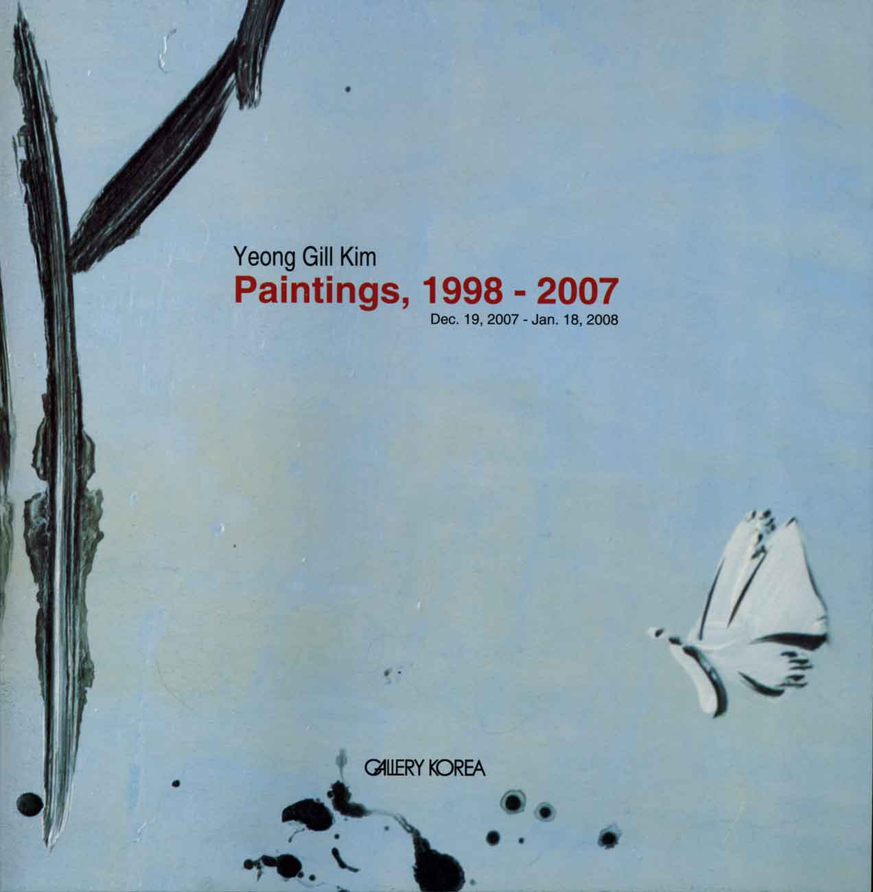Yeong Gill Kim: Paintings, 1998-2007, cover page