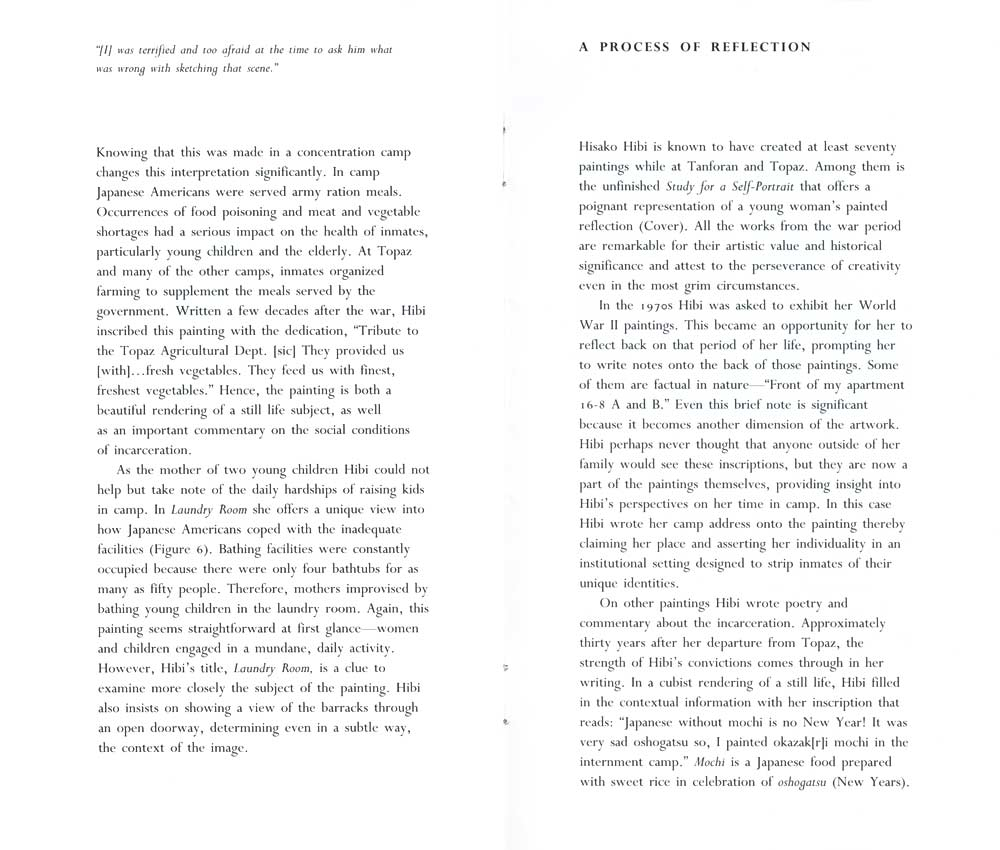A Process of Reflection, essay pg 7