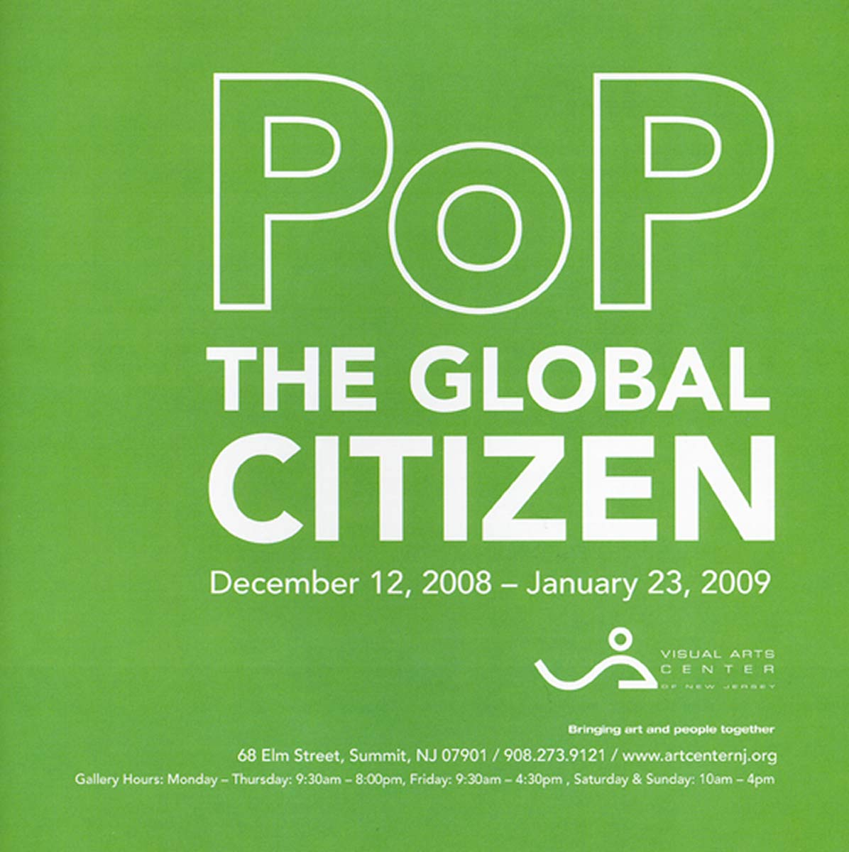 Excerpt from Exhibition Catalog, Pop: The Global Citizen, 2009