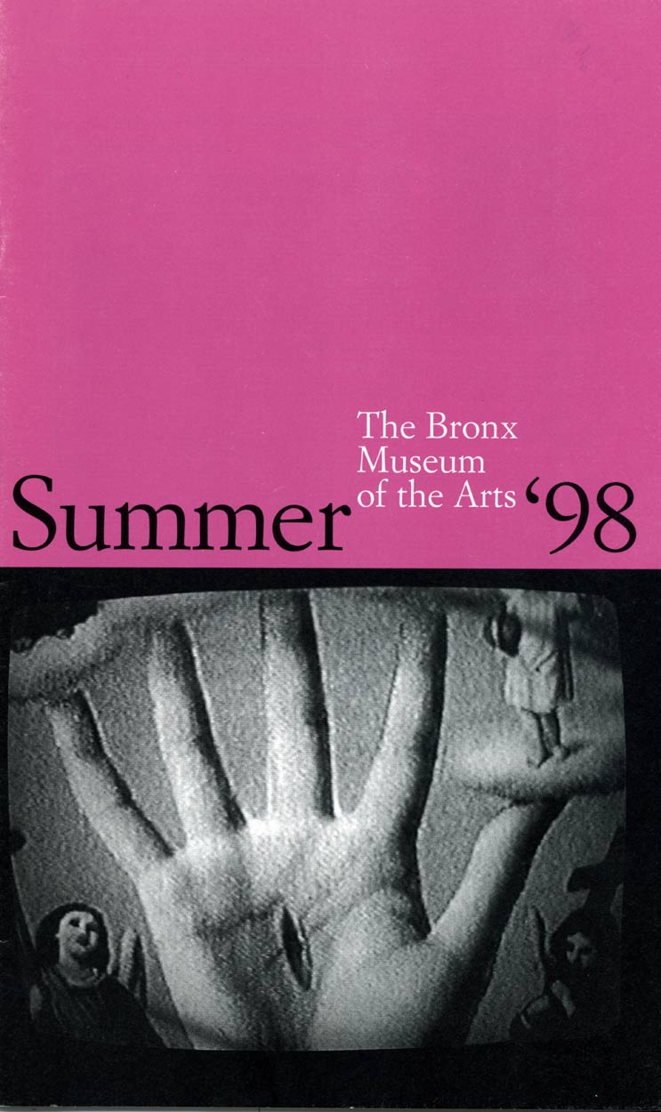 The Bronx Museum of the Arts, brochure, pg 1