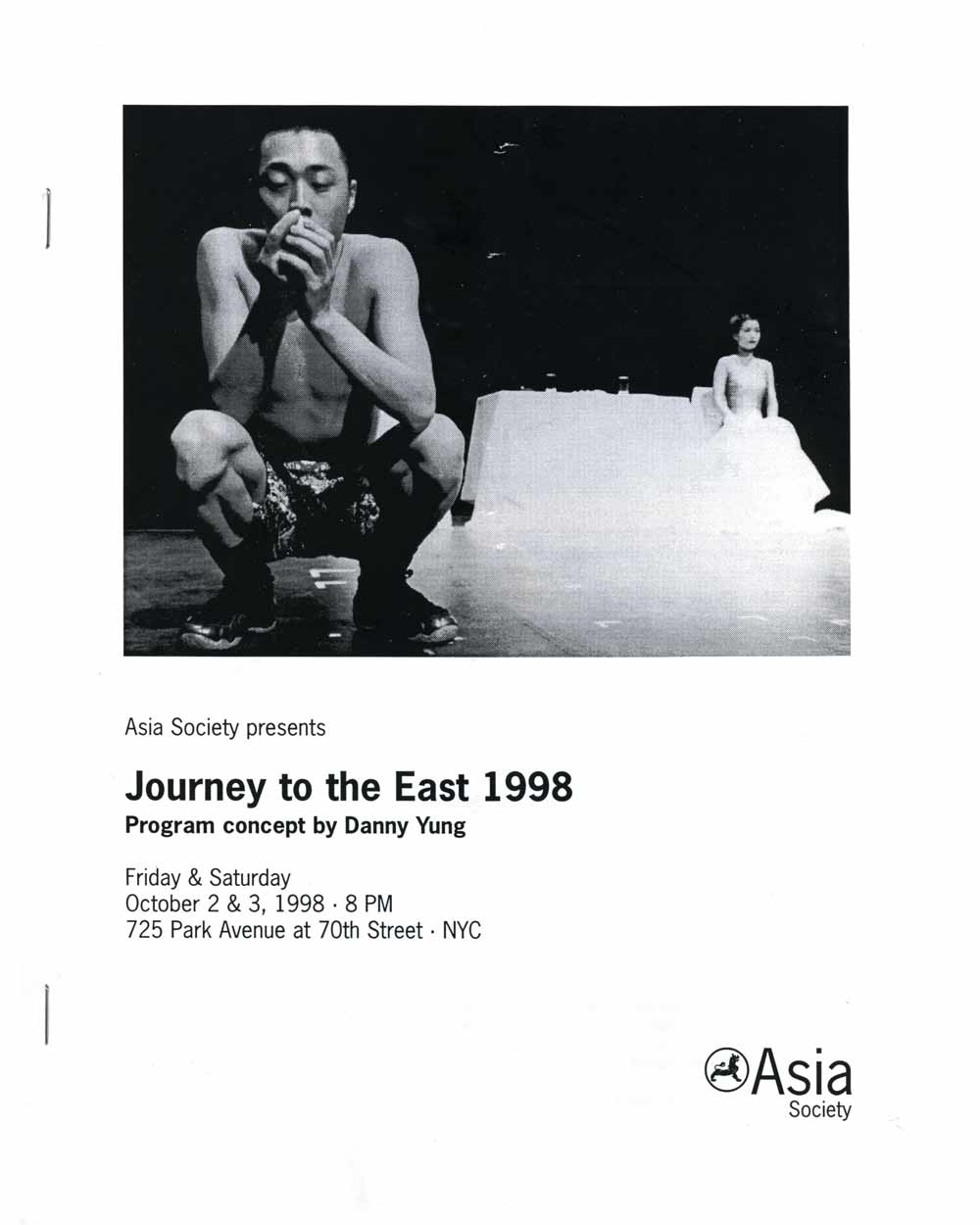 Journey to the East 1998, cover