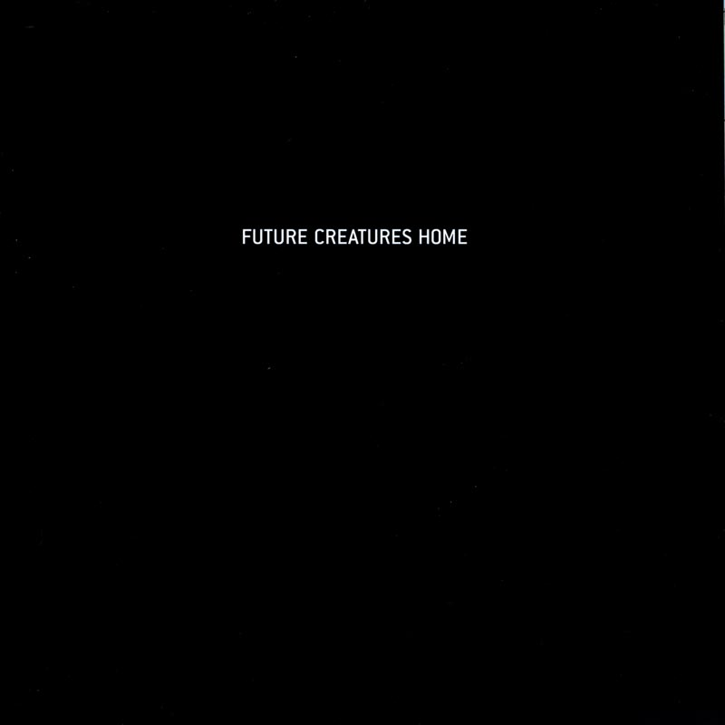Future Creatures, catalog, title page