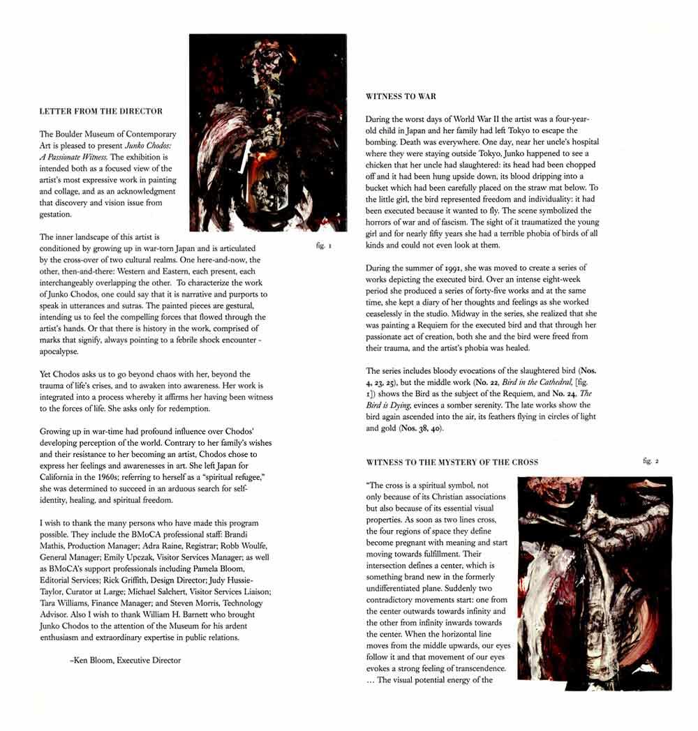 Passionate Witness brochure, pg 1