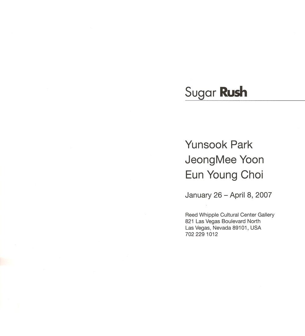 Sugar Rush, title page