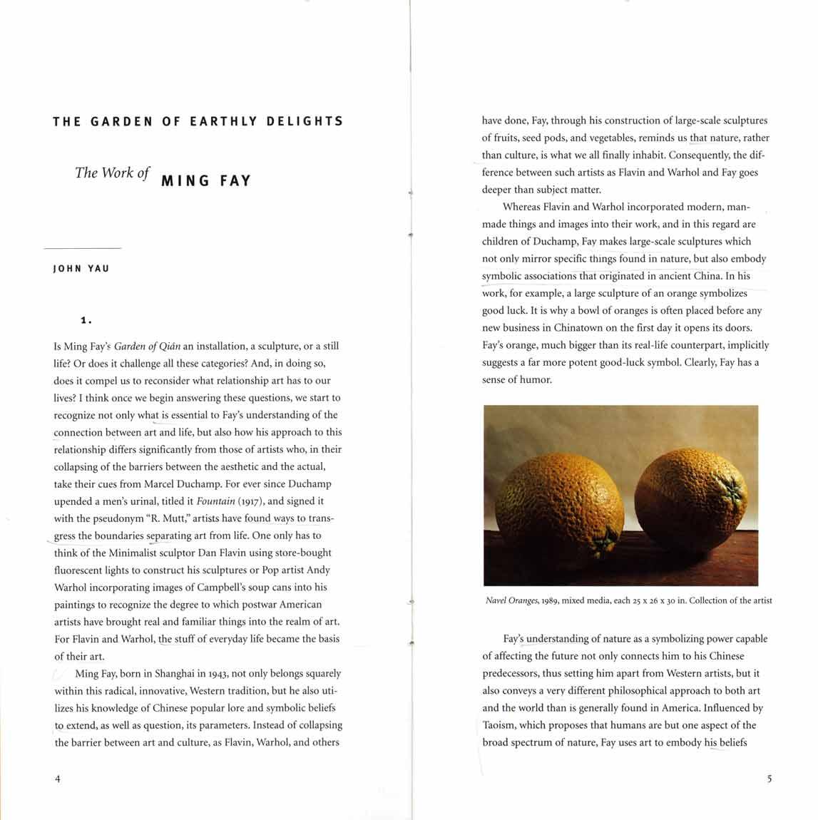 Garden of Qian, brochure, pg 4