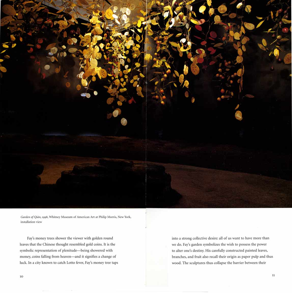 Garden of Qian, brochure, pg 7