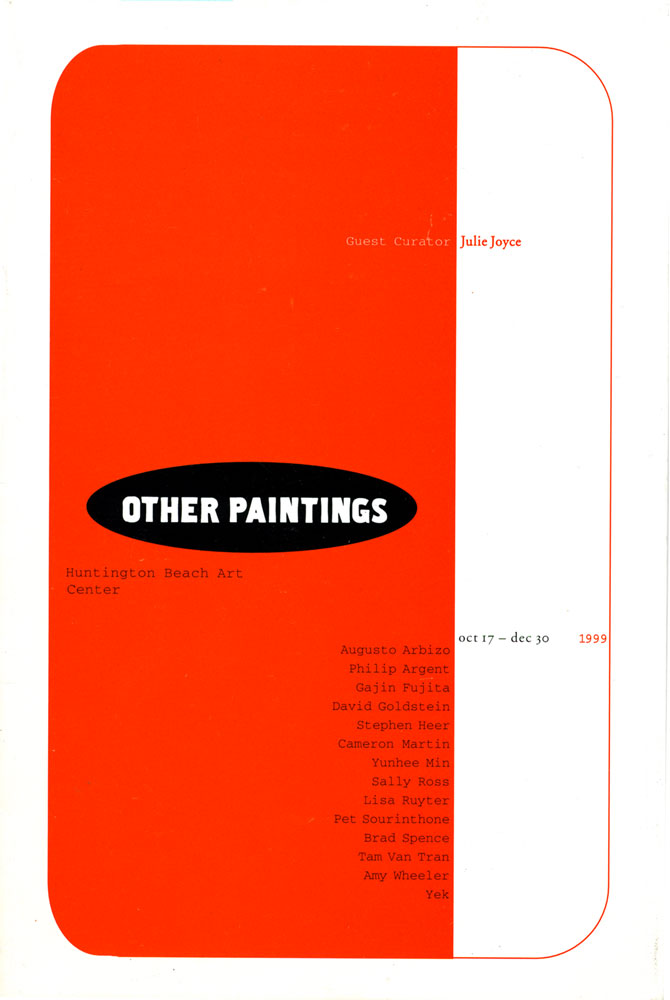 Other Paintings brochure, pg 1