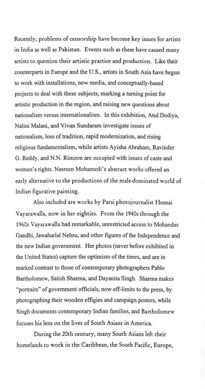 Out of India, brochure, pg 3