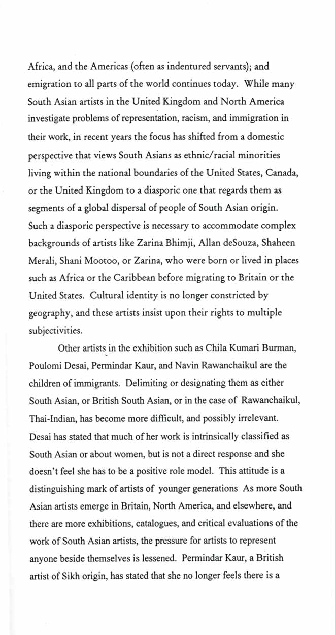 Out of India, brochure, pg 4