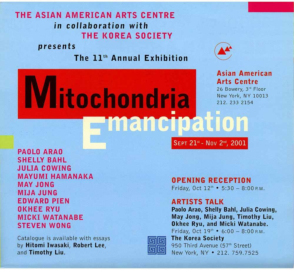 Mitochondria Emancipation flyer, pg 2