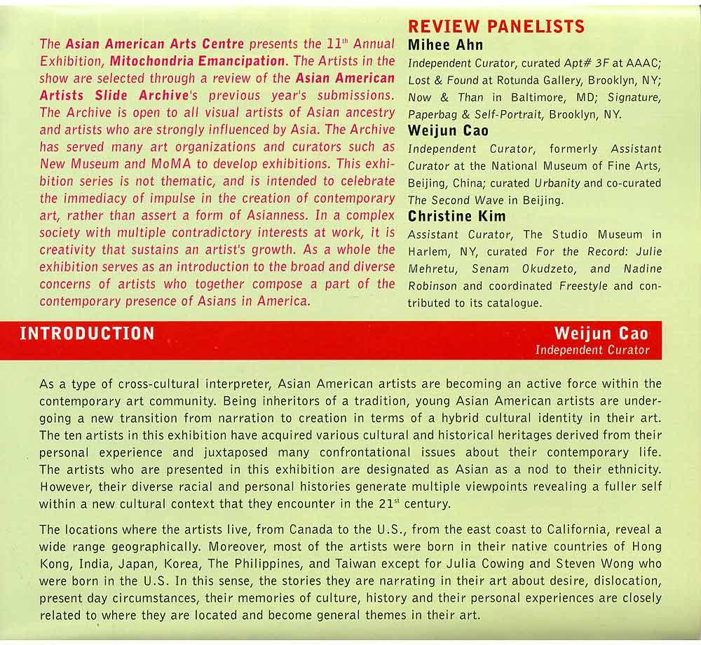 Mitochondria Emancipation flyer, pg 3