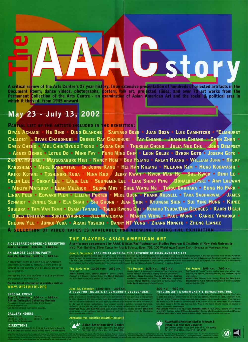 The AAAC Story, poster