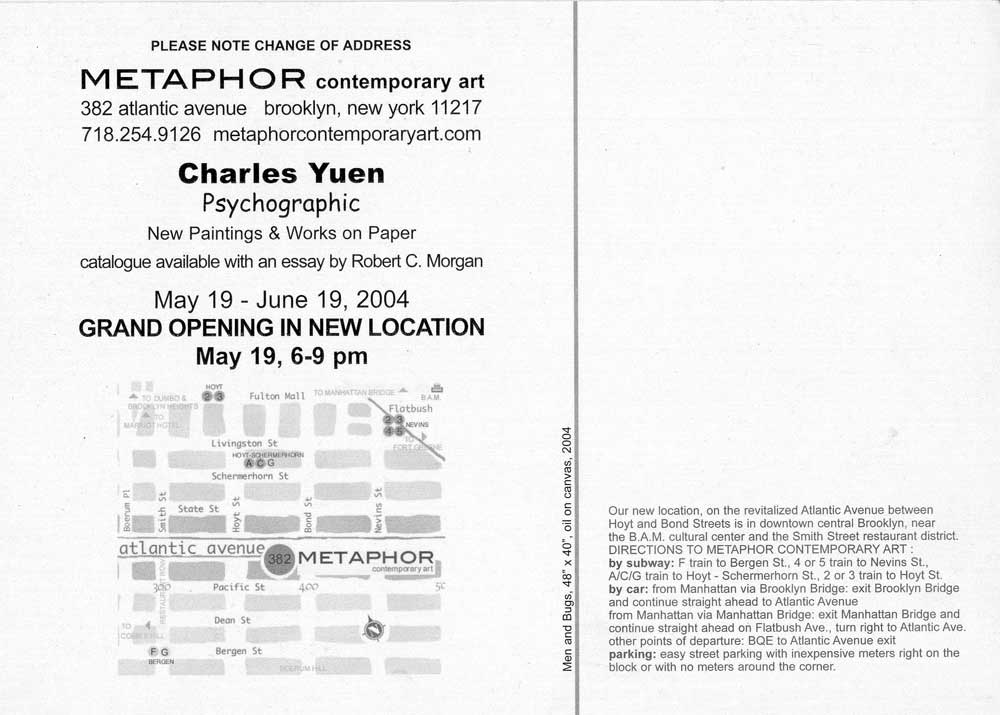 Psychographic flyer (back)