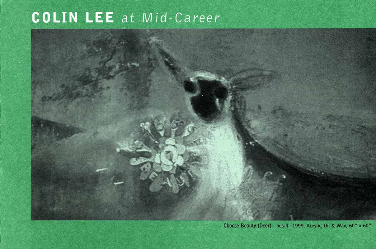 Colin Lee at Mid-Career, flyer, pg 1