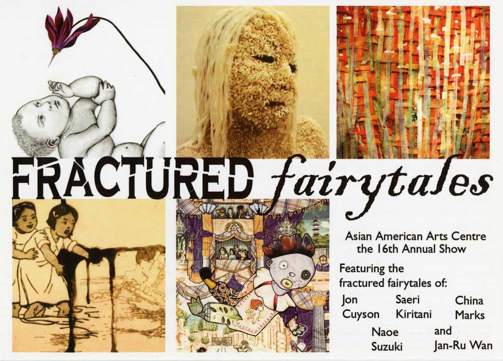 Fractured Fairytales flyer, pg 1