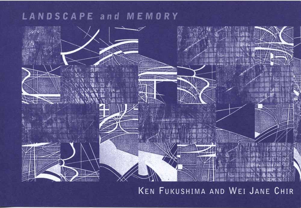 Landscape and Memory, flyer, pg 1