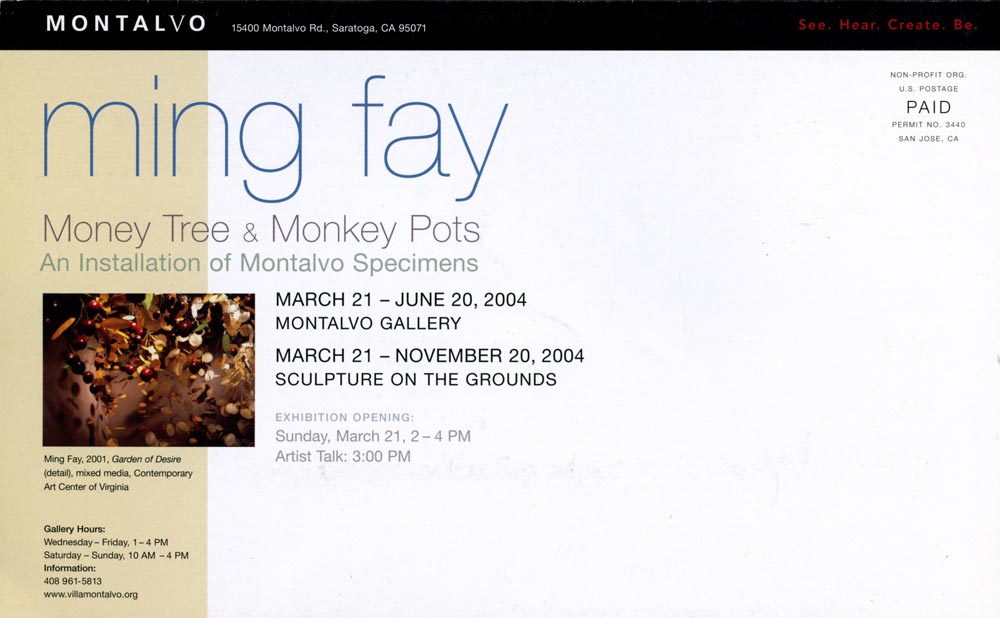 Money Tree & Monkey Pots, flyer, pg 1
