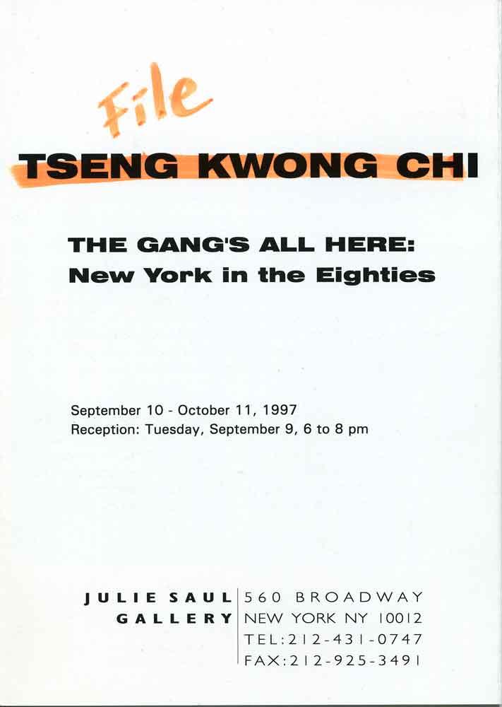 Gang's All Here, pg 1