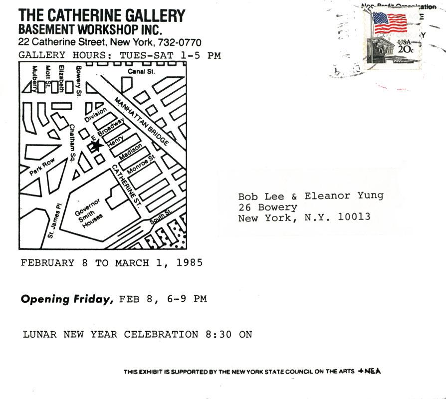 Arlan Huang & Colin Lee: Wet Paintings, postcard, pg 2