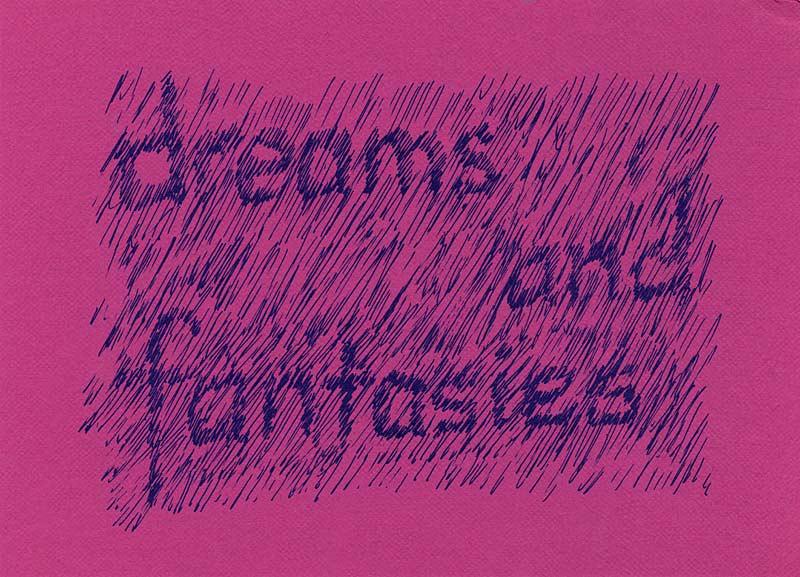 Dreams & Fantasies, postcard, pg 1