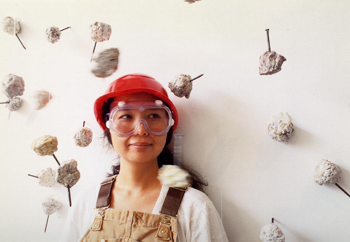 Niizeki Hiromi: Balls, postcard, pg 1