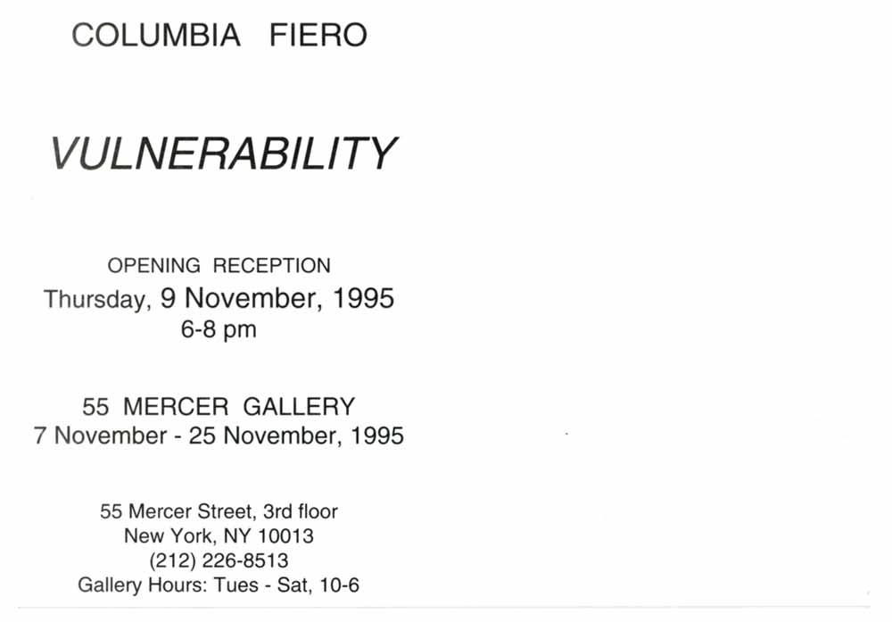 Vulnerability, postcard, pg 2