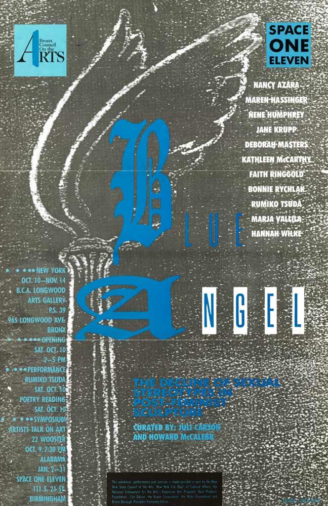 Blue Angel poster