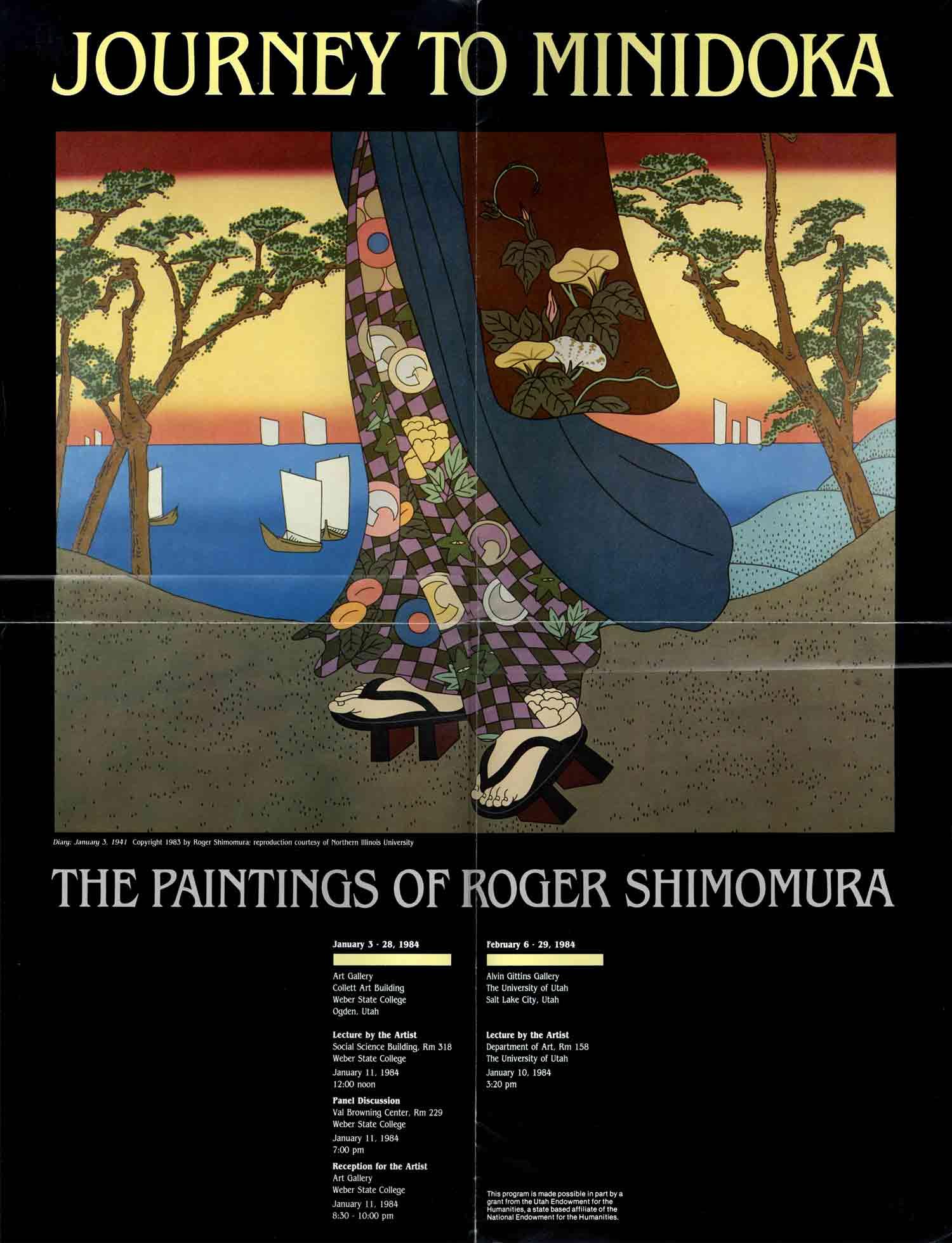 Roger Shimomura, poster