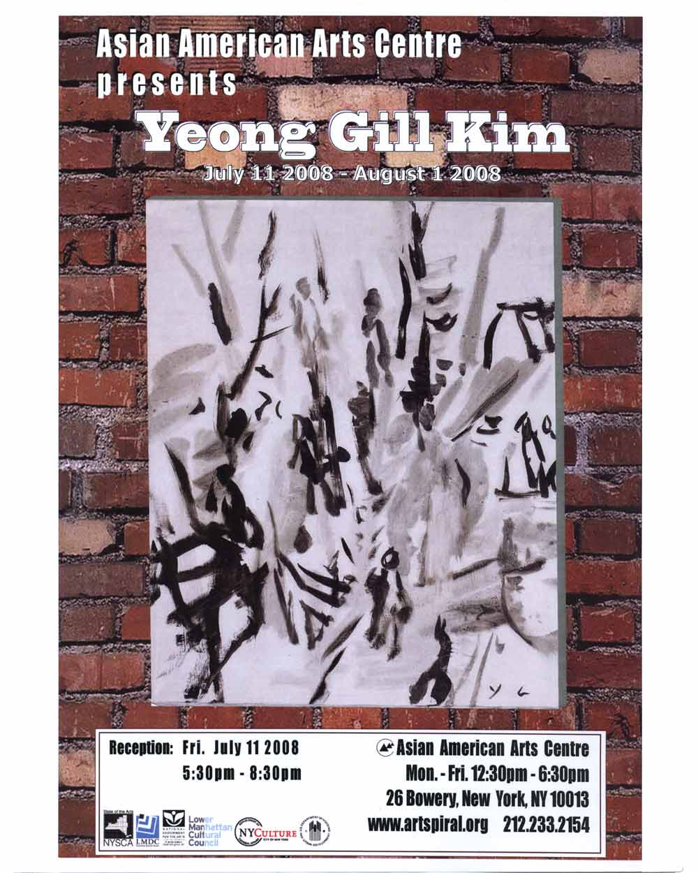 Yeong Gill Kim, poster