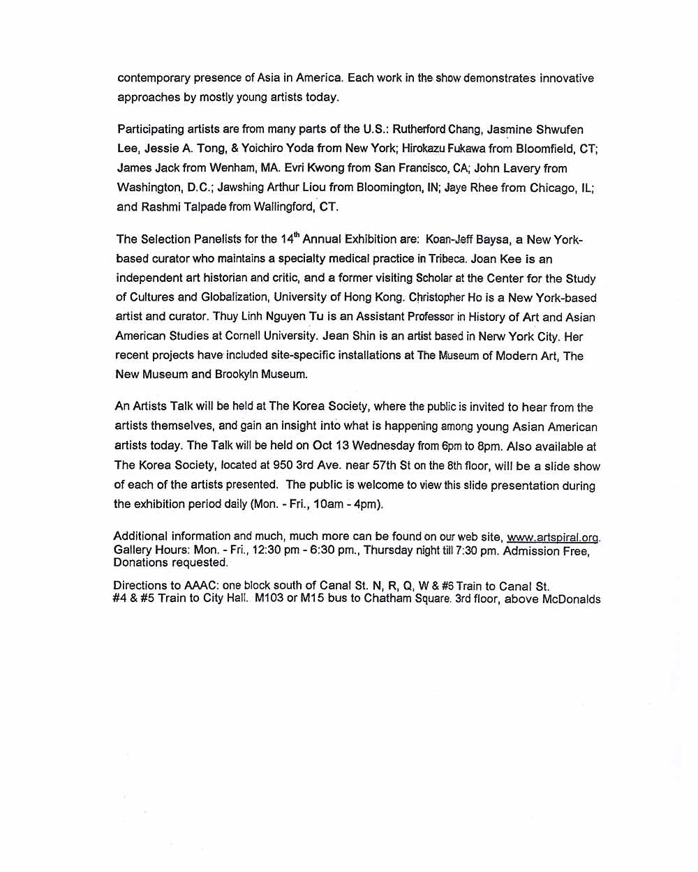 Butternut Ink, press release, pg 2