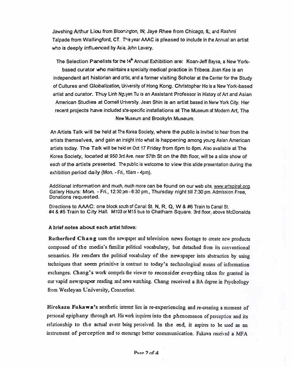 Butternut Ink, press release, pg 3