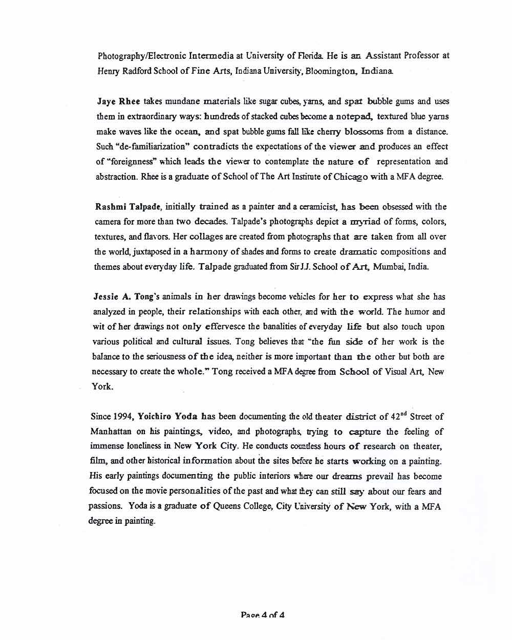 Butternut Ink, press release, pg 5